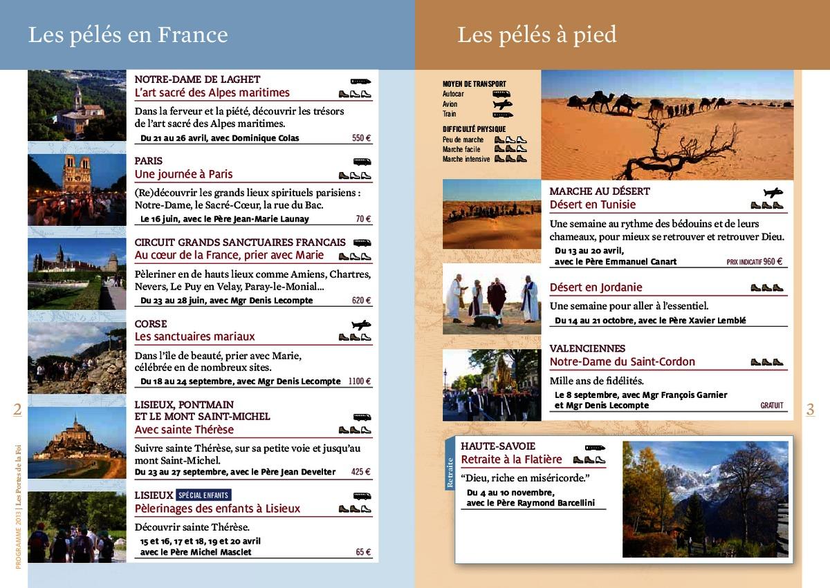 Les portes de la foi 2013 for Les portes logiques pdf