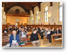 Prière du milieu du jour à la chapelle
