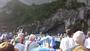 messe à la grotte Lourdes