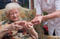 Home medical assistance of seniors