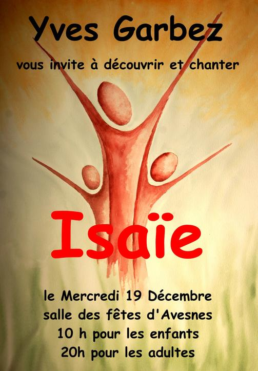 Affiche ISAA#E-Avesnes