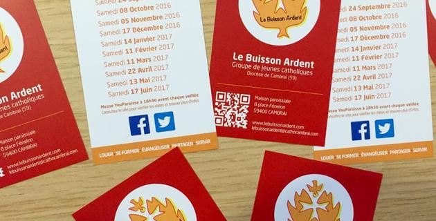 carte Buisson Ardent