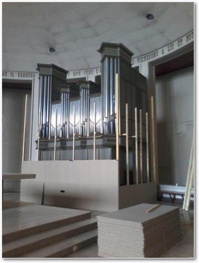 Images - Stald - Travaux de protection de l\'orgue