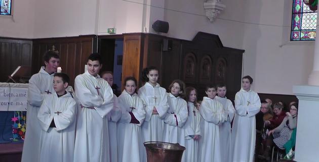 Cyril, Paul Antoine, Quentin, Noémie, Clémence, Lauriane, Candice, Sarah, Pierre Emmanuel, Joseph et Simon