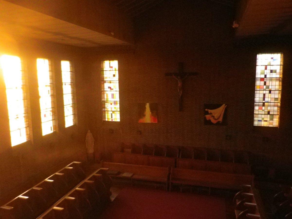 031- La chapelle, cote stalles