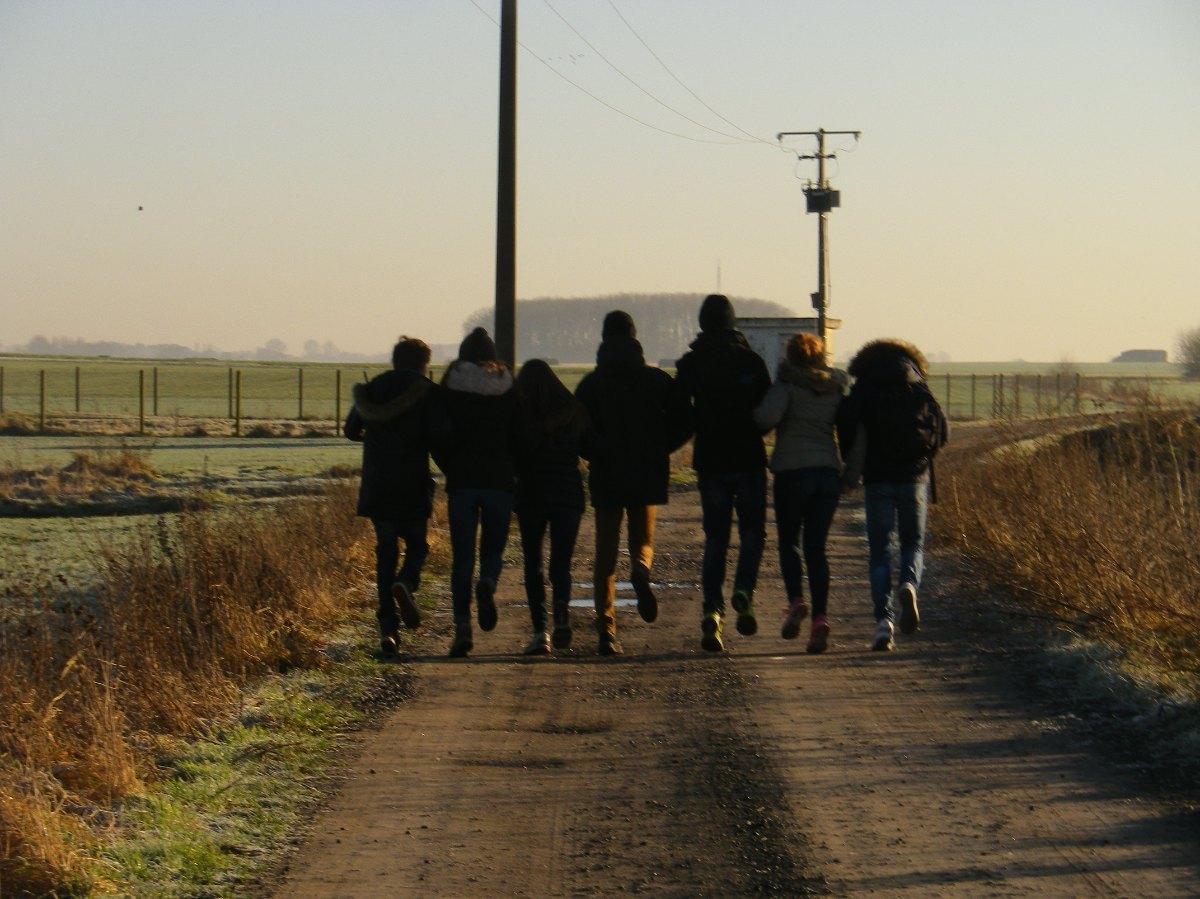 045- Des jeunes heureux !