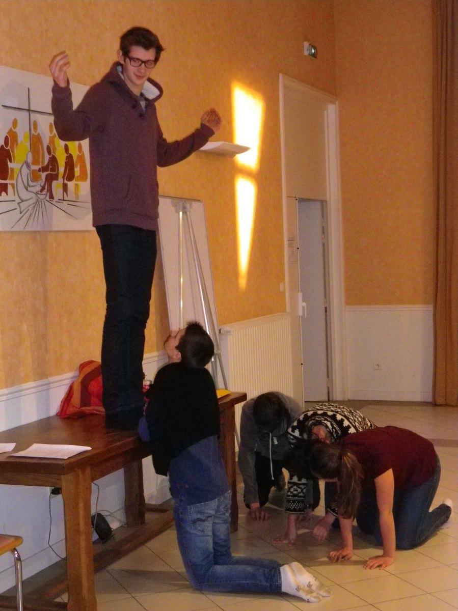 086- Posture christique !
