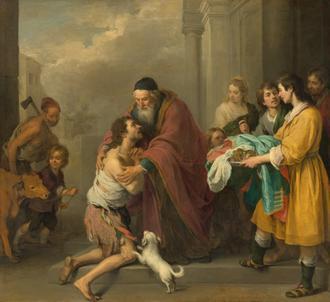 Le retour du fils prodigue de Murillo