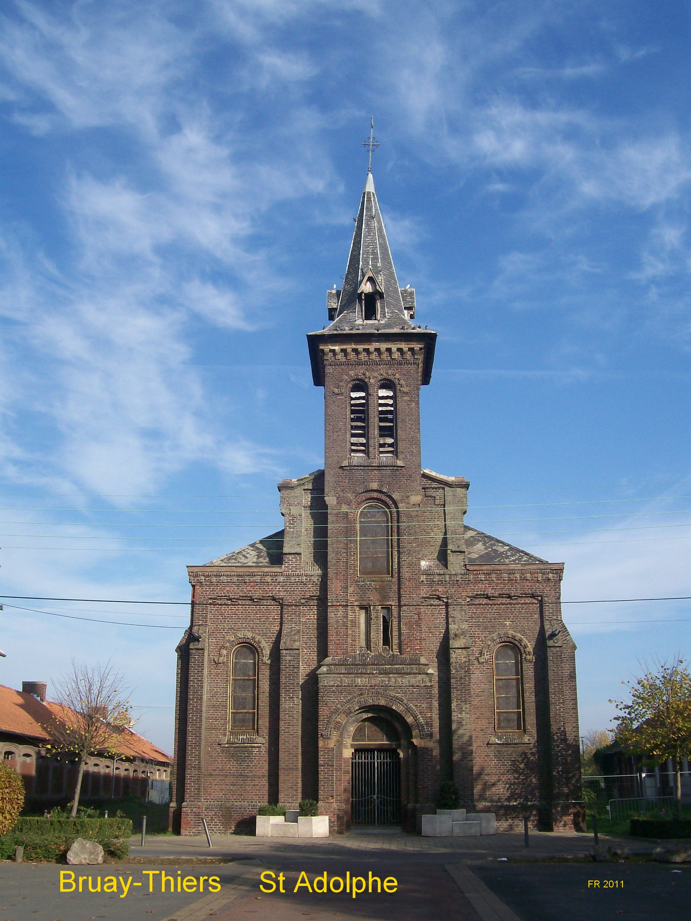 Rue de l'église - quartier de Thiers