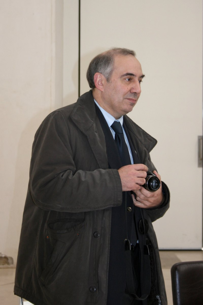Le Père Marc Beaumont, délégué à la communication pour le diocèse de Cambrai