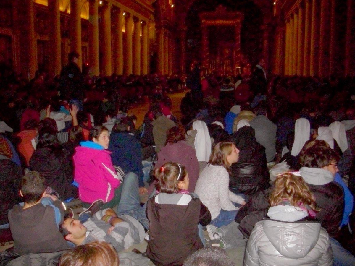Prière de Taizé à Ste Marie Majeure (1)