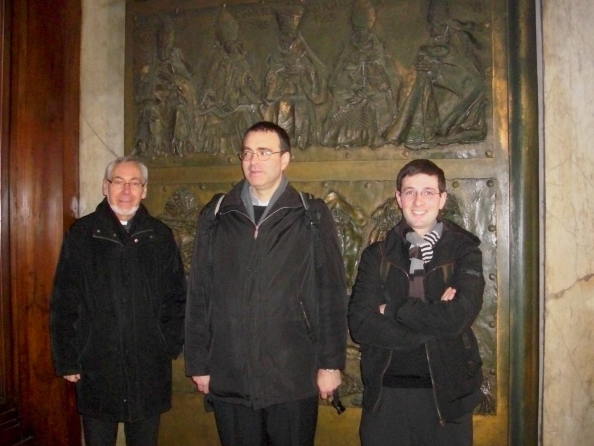 Dans la Basilique St-Pierre (2)