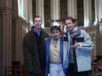 Le trio des séminaristes cambrésiens