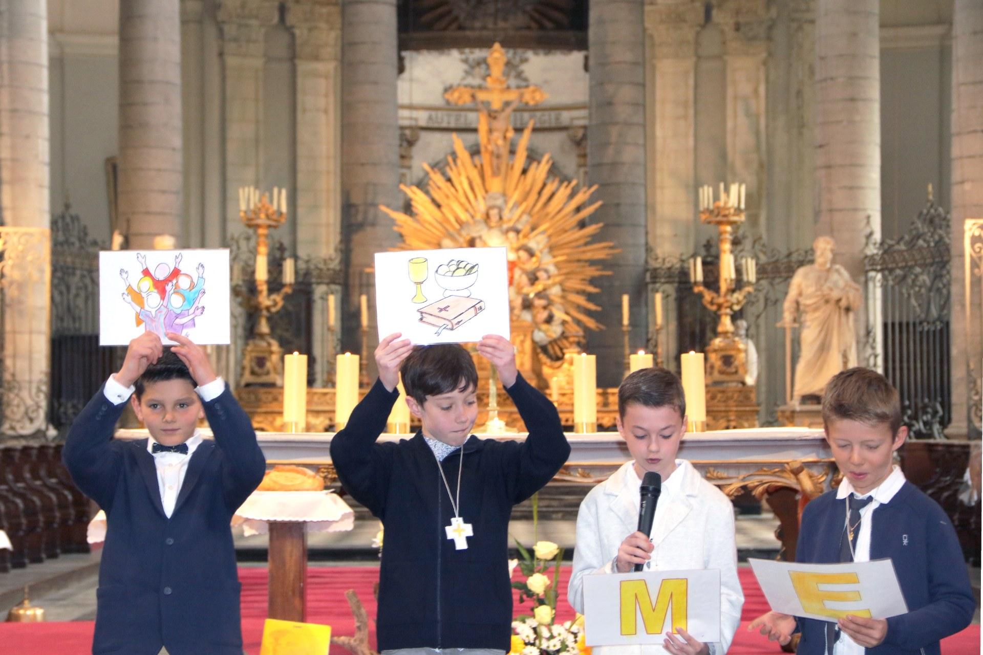 1904 - Premières communions (St-Jean) 108