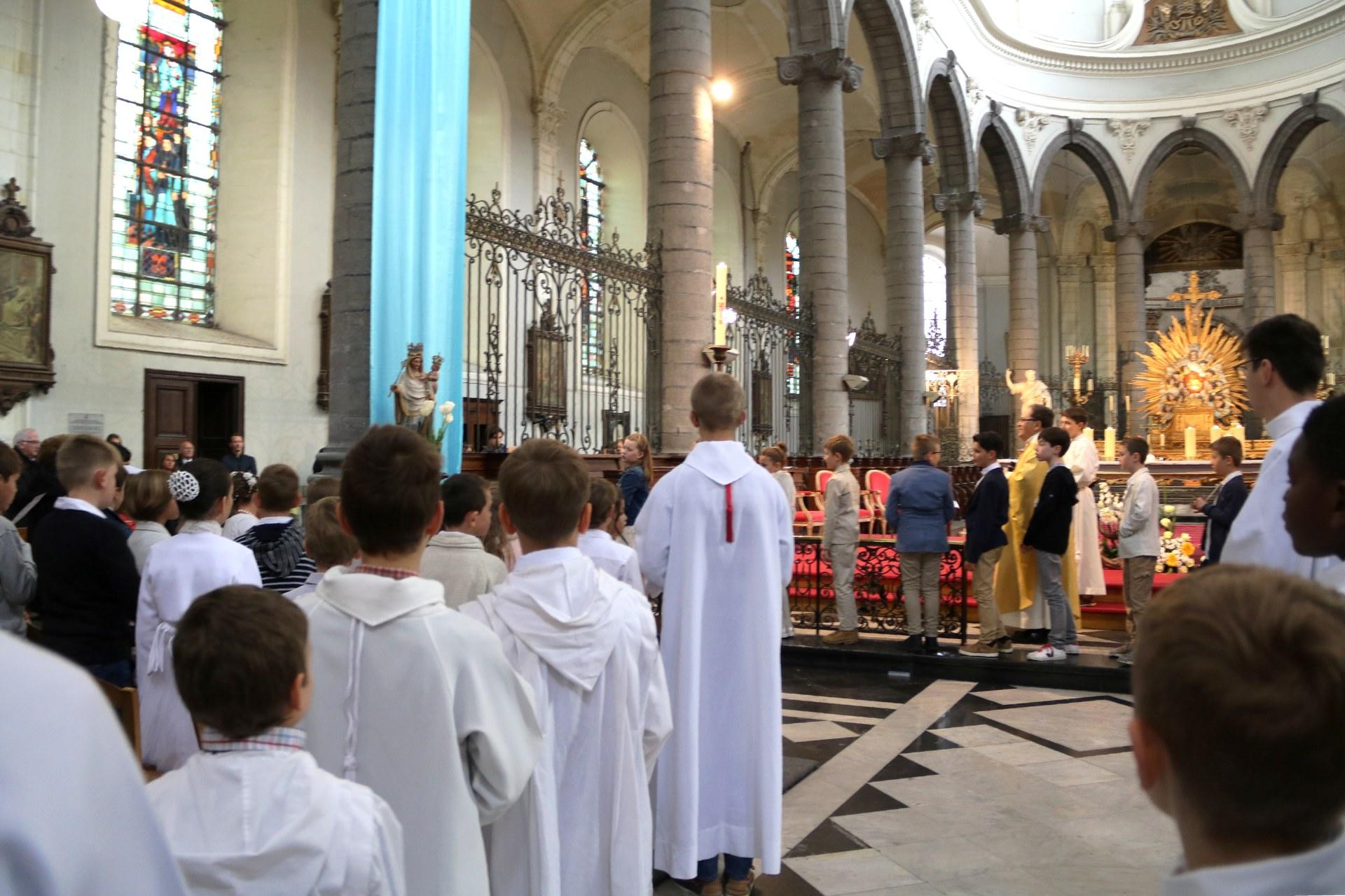 1904 - Premières communions (St-Jean) 114