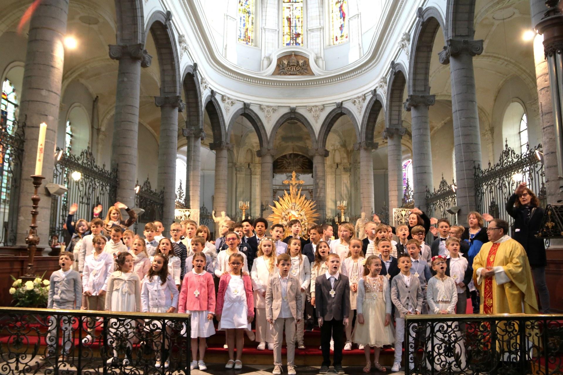 1904 - Premières communions (St-Jean) 117