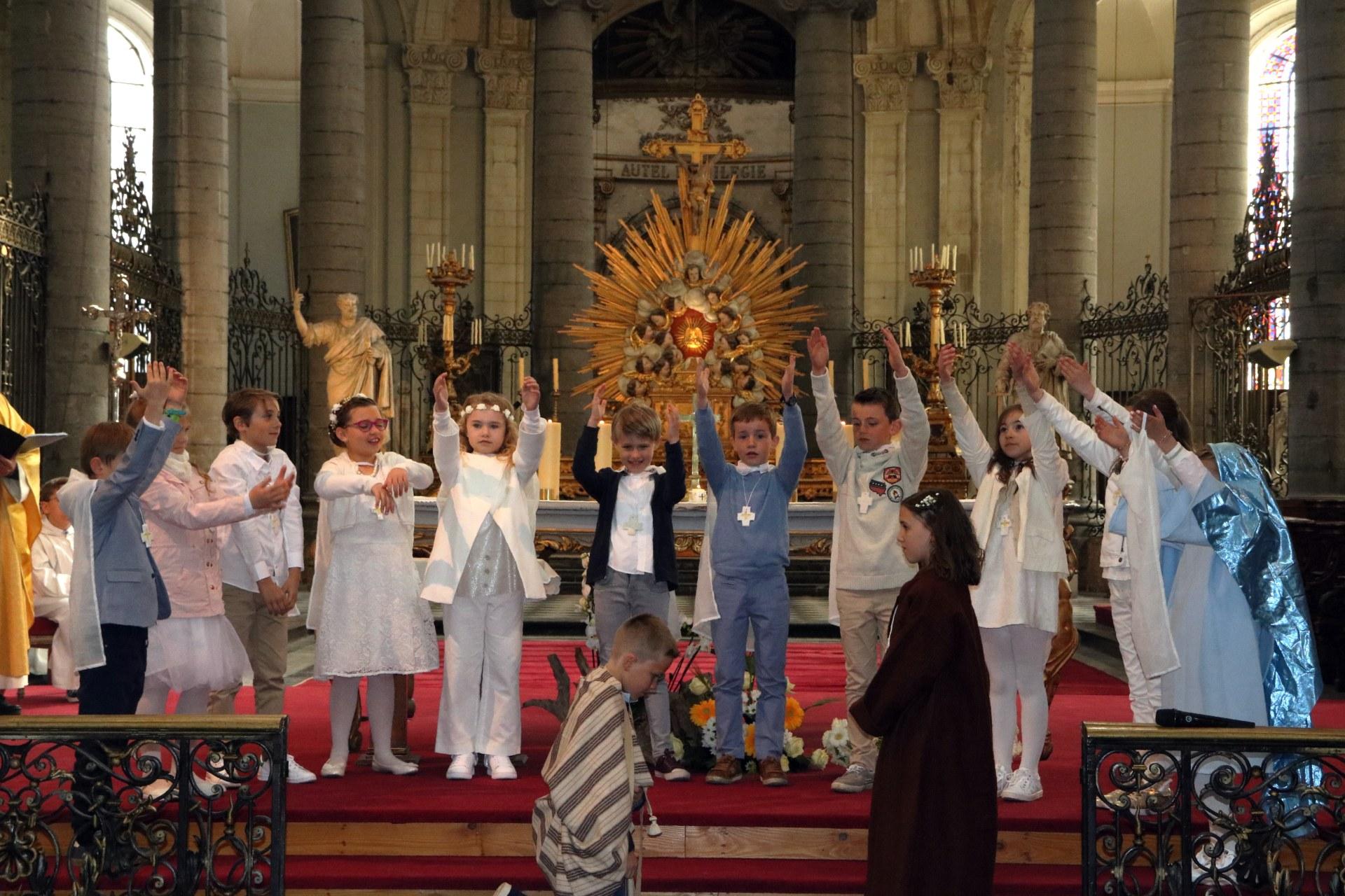 1904 - Premières communions (St-Jean) 56