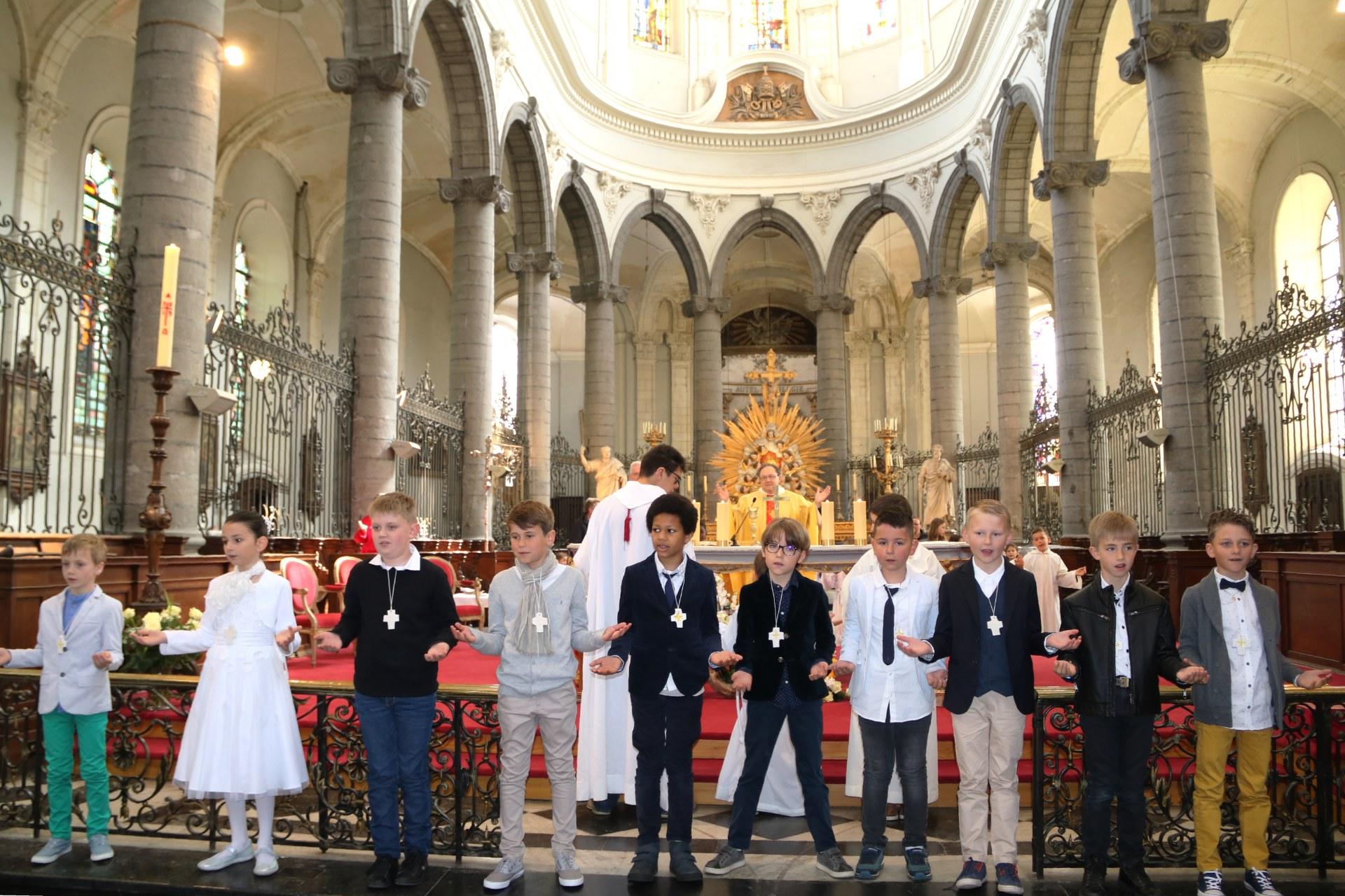 1904 - Premières communions (St-Jean) 86