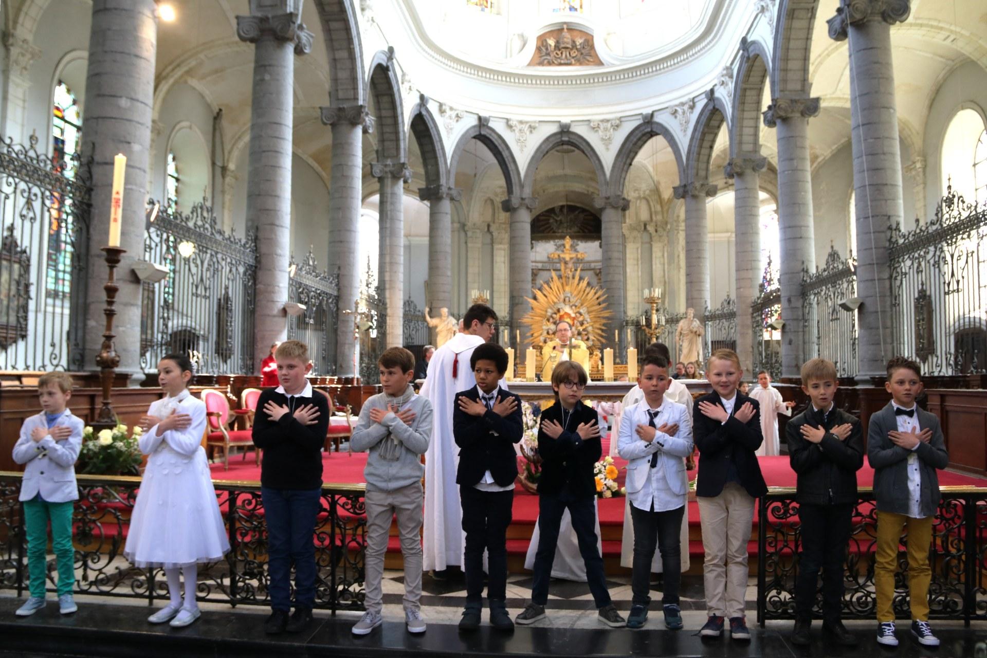 1904 - Premières communions (St-Jean) 87
