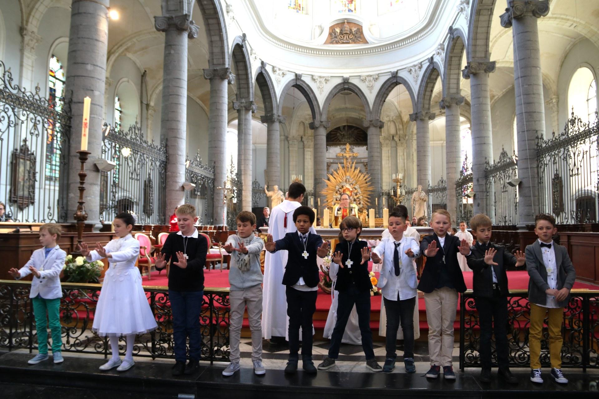 1904 - Premières communions (St-Jean) 88