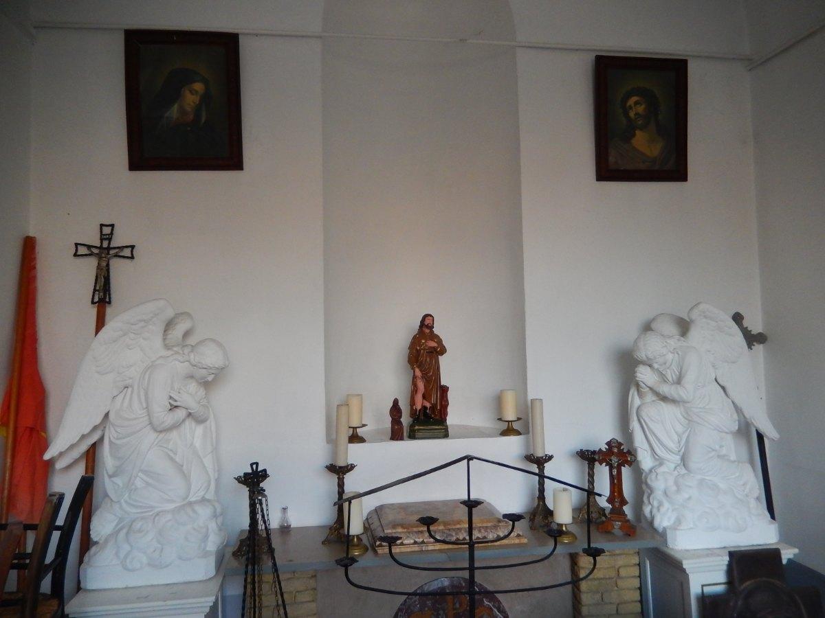 Chapelle St Roch à Hergnies