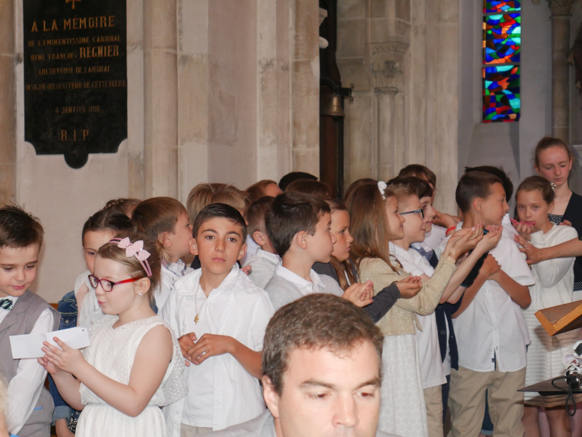 1eres communions 2018 Immaculee (2)