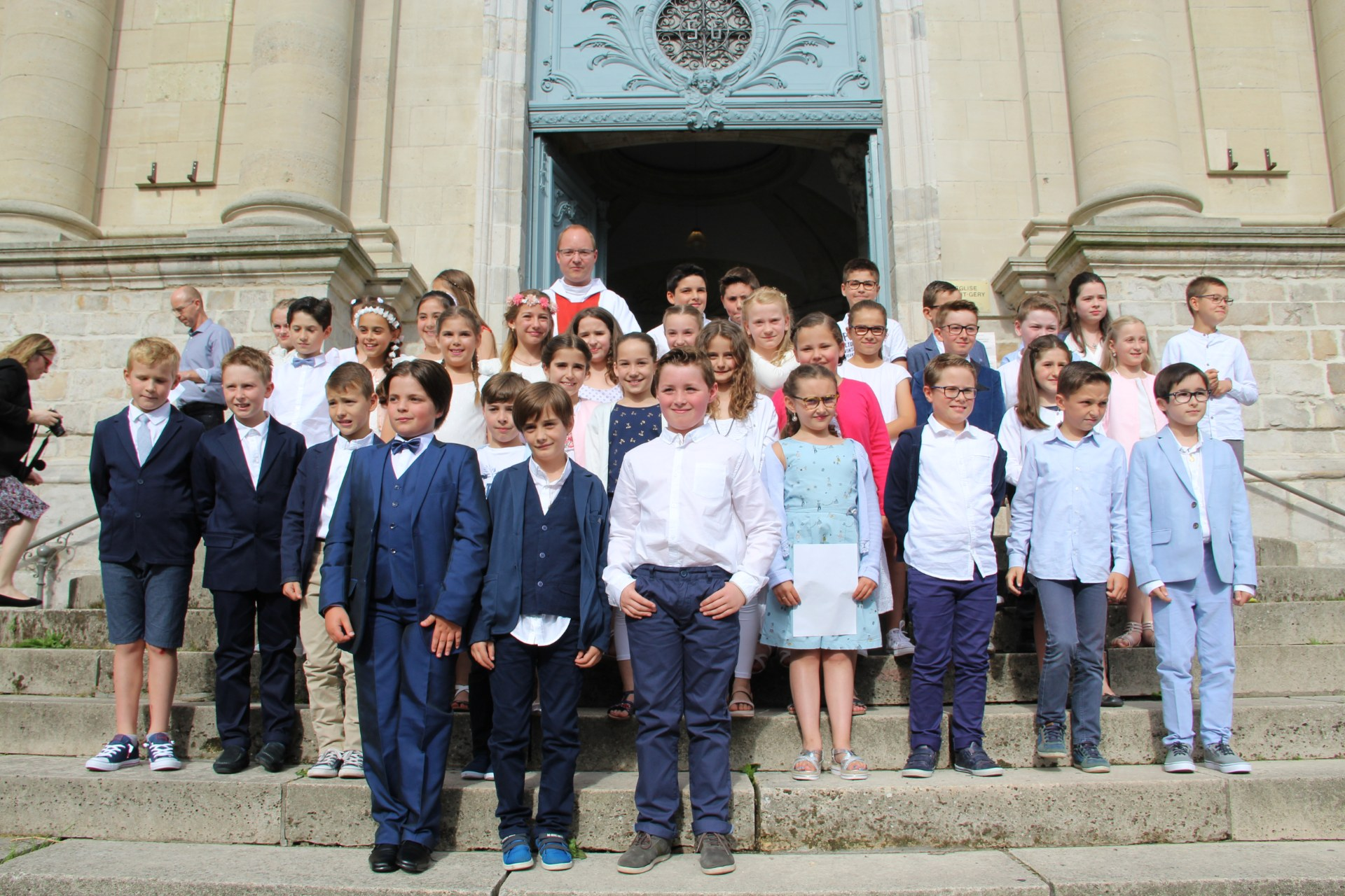 1eres communions Ecole St Bernard 2018 (1)