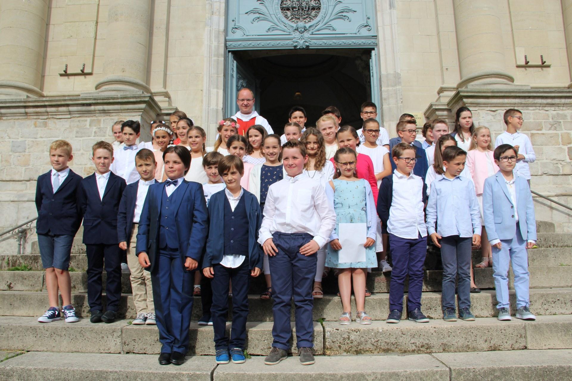 1eres communions Ecole St Bernard 2018 (2)