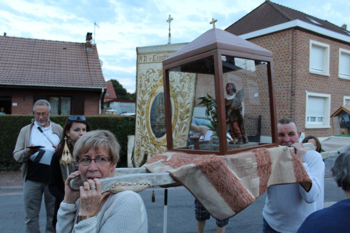 Procession samedi soir - St Roch