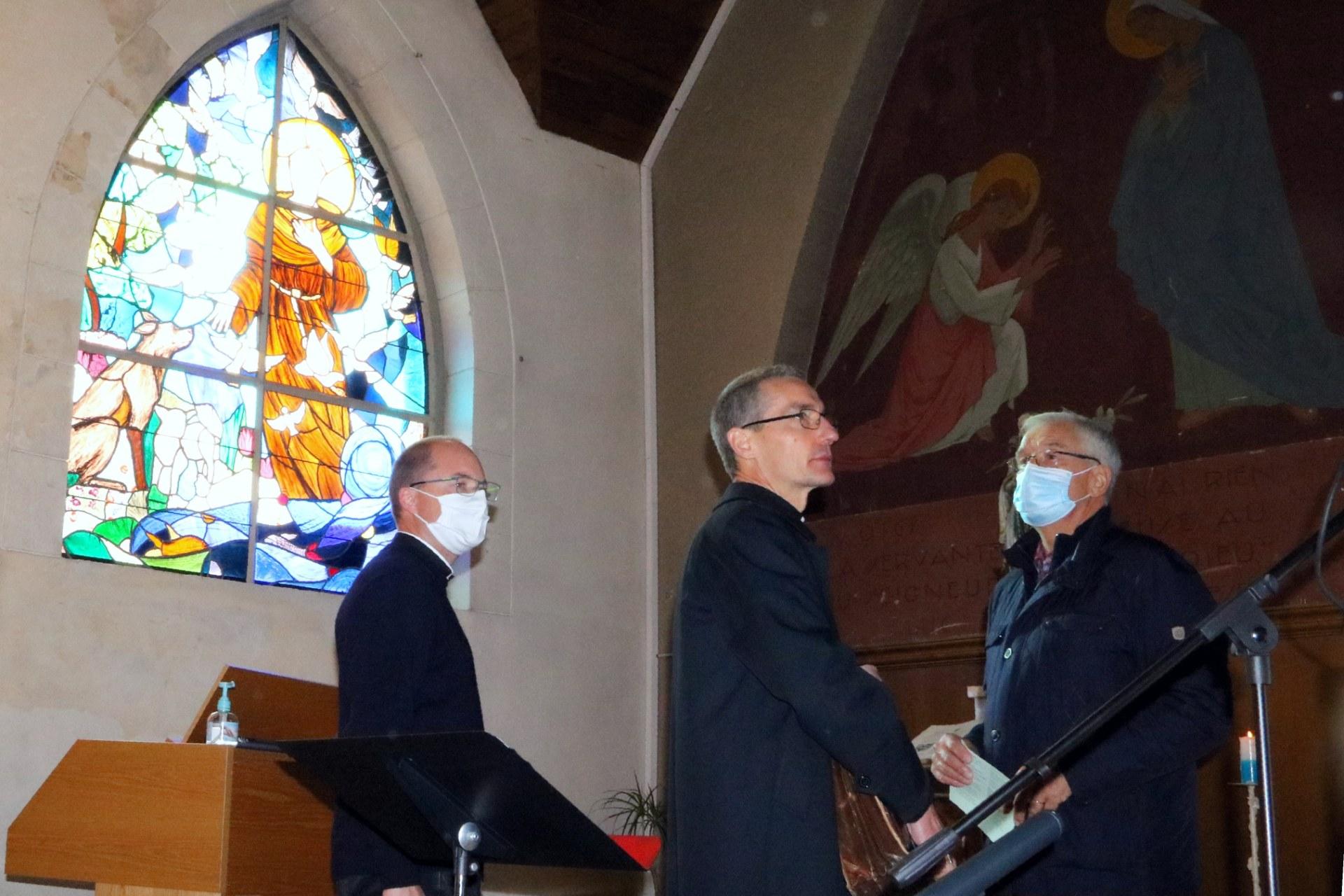 2010 - Messe présidée par Mgr DOLLMANN 2