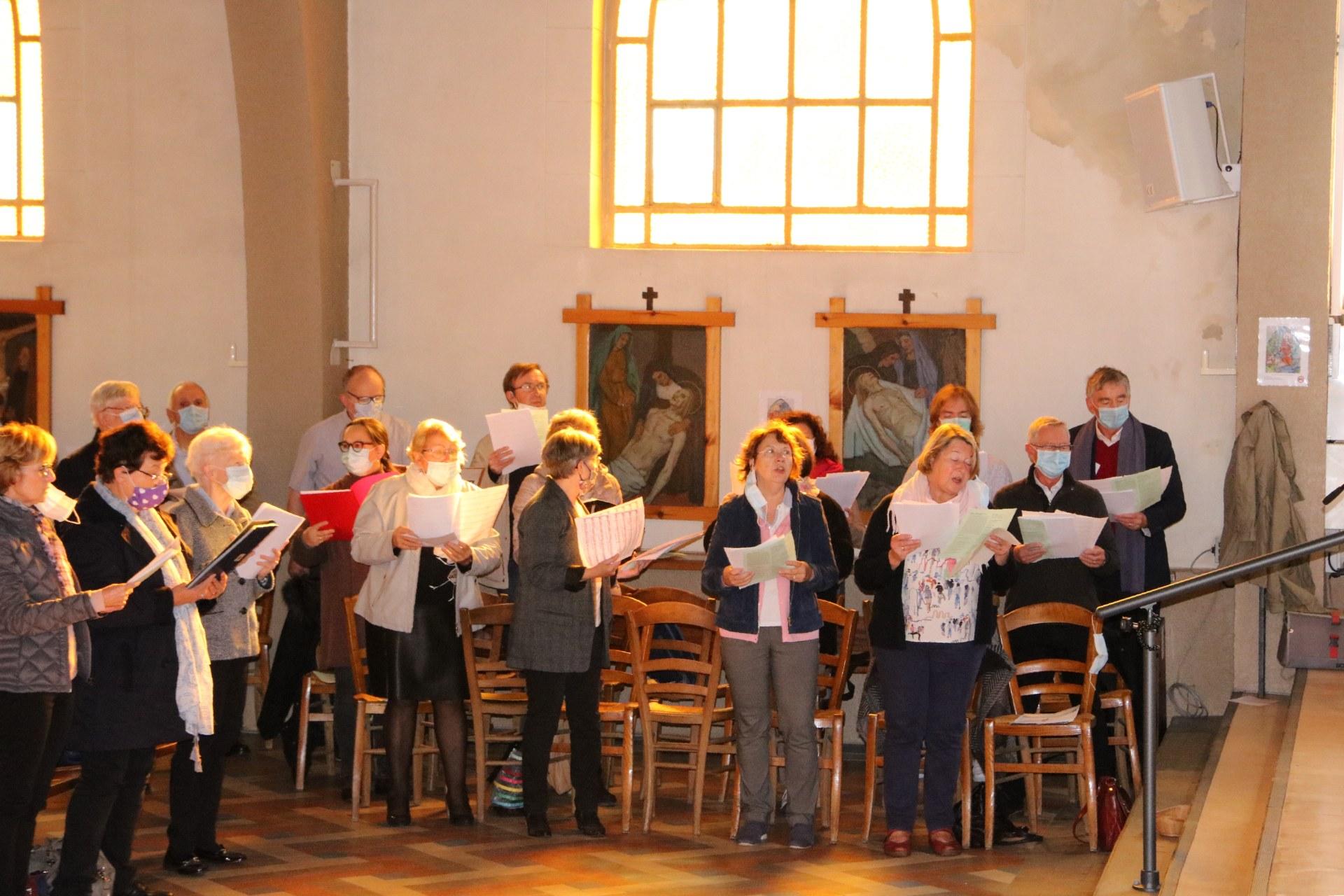2010 - Messe présidée par Mgr DOLLMANN 9