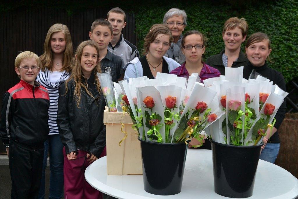 des roses pour Bousies