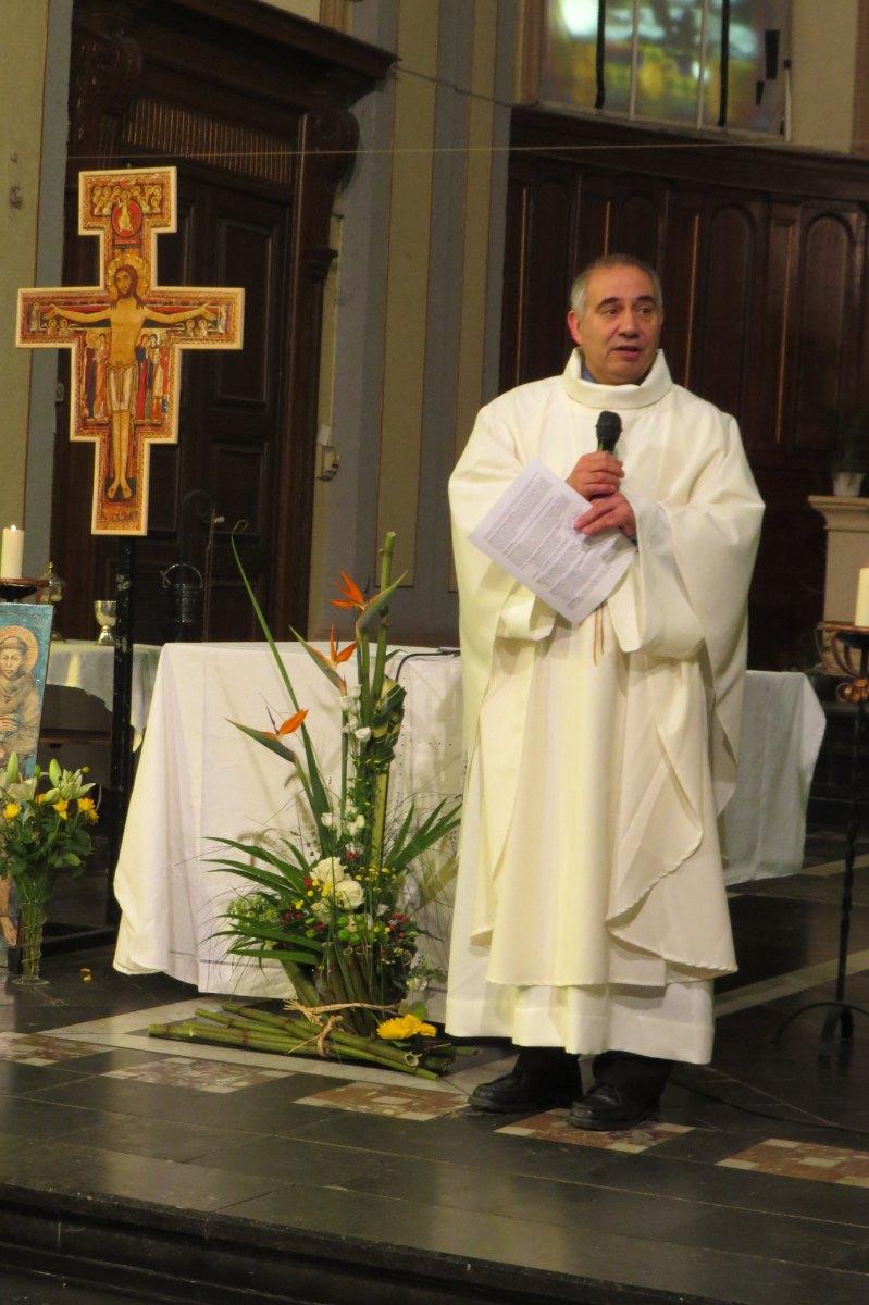 Accueil en ce jour de la fête de Saint François d'Assise