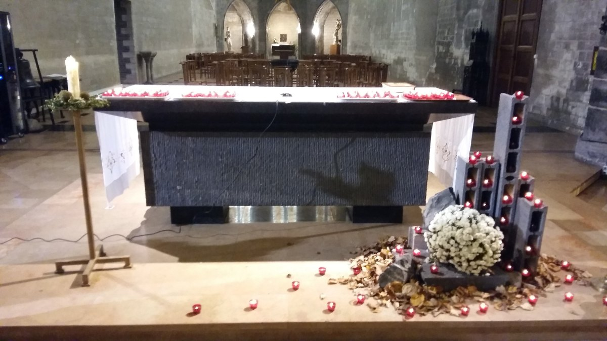 hommage aux victimes