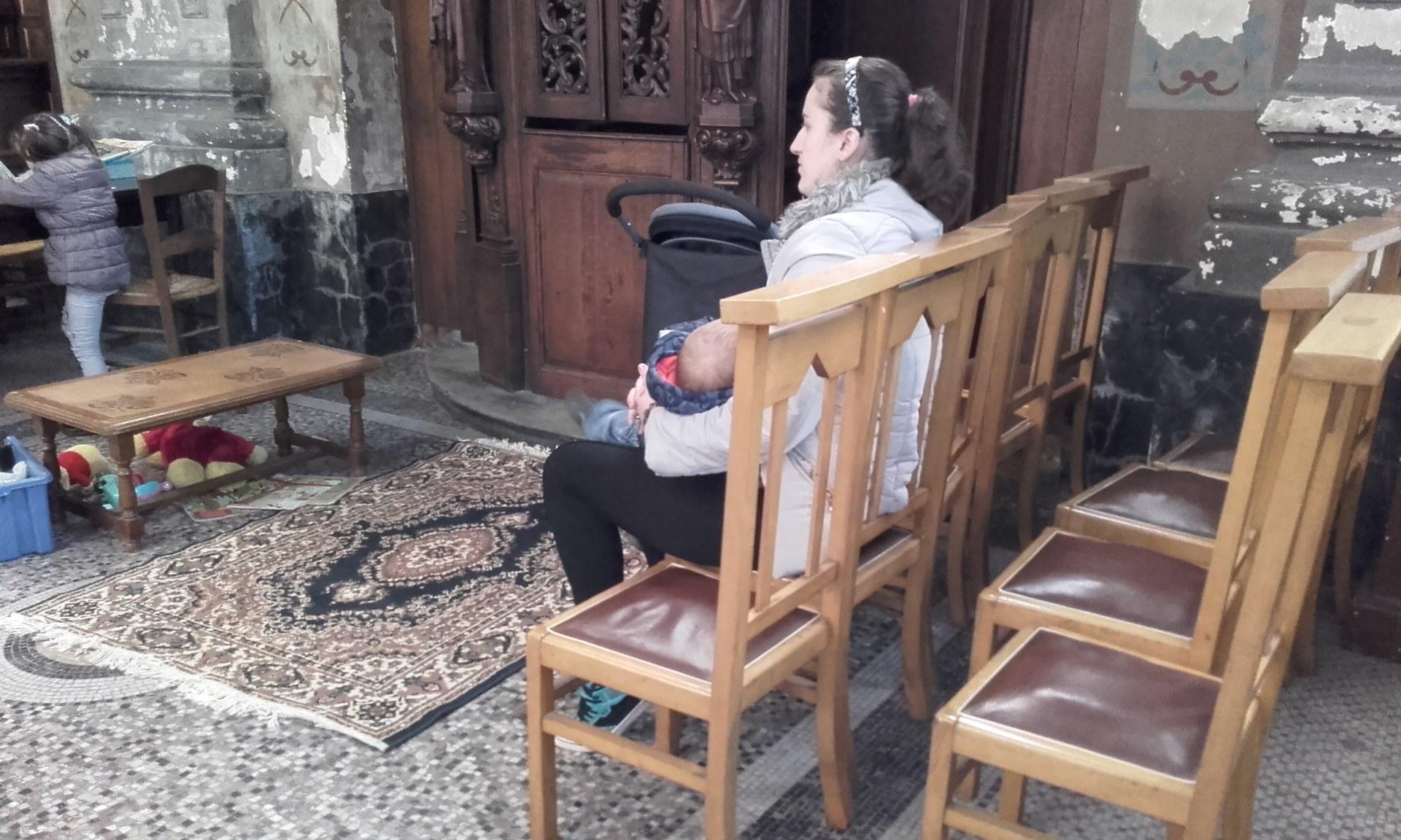 Espace enfants église St Wasnon Condé