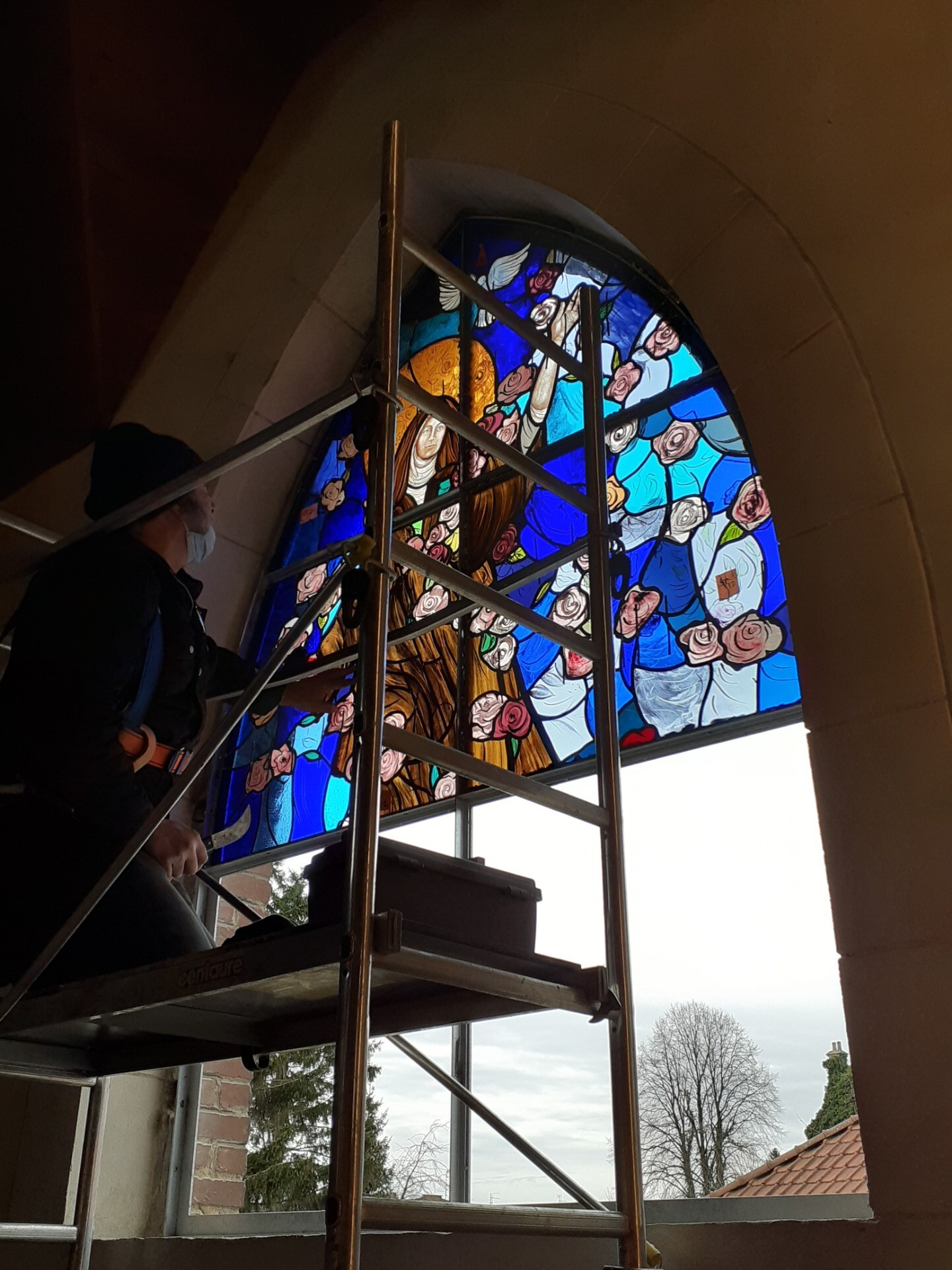 vitraux Ste Thérèse 1