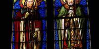 les 2 saints Verrière de droite
