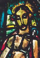 Christ des douleurs de G. Rouault