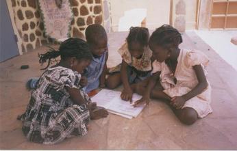Petites filles au Benin