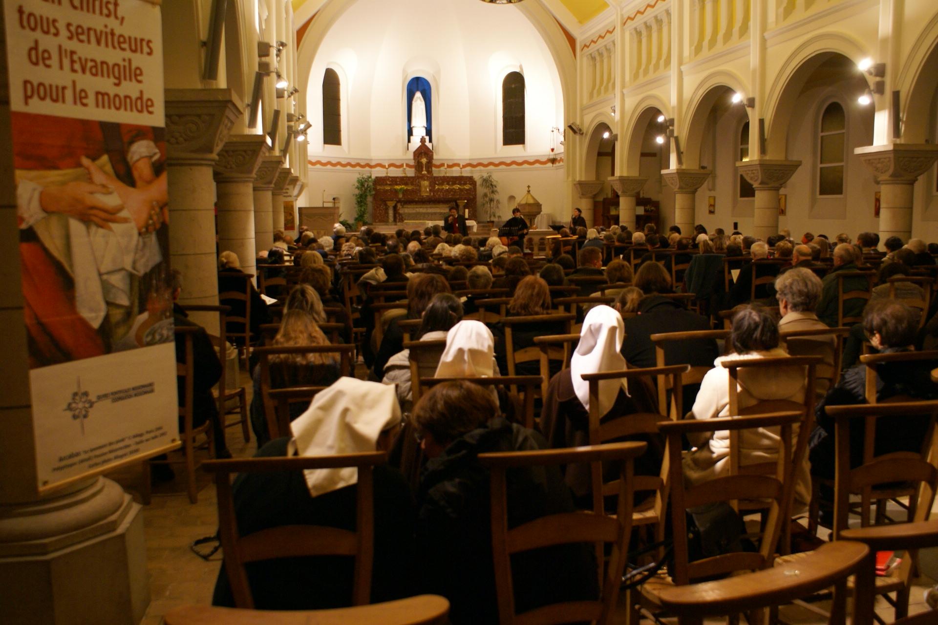 Eglise Ste Thérèse - témoignage de T.Fourchaud - Tous serviteurs ...