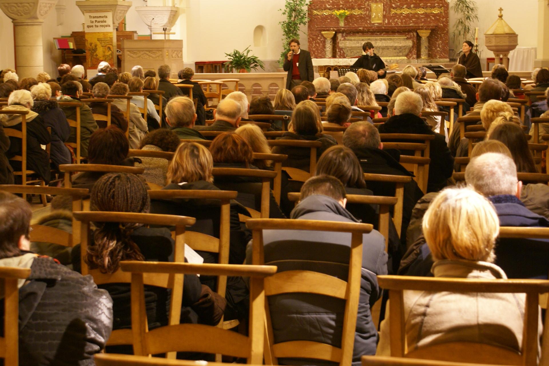 Eglise Ste Thérèse - témoignage de T.Fourchaud