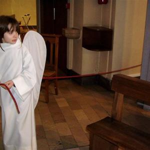 Les anges deposent le cordon du salut ! (3)