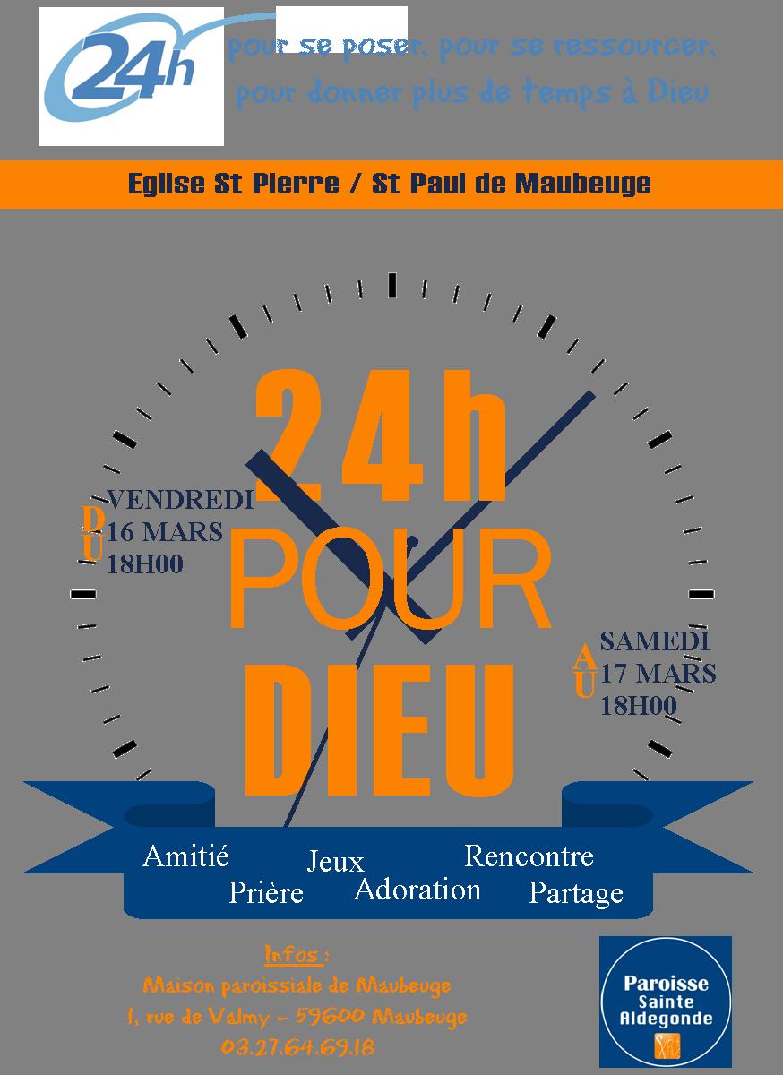 24h pour Dieu paroisse