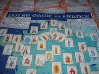Le grand poster de tous les noms de Notre-Dame en France