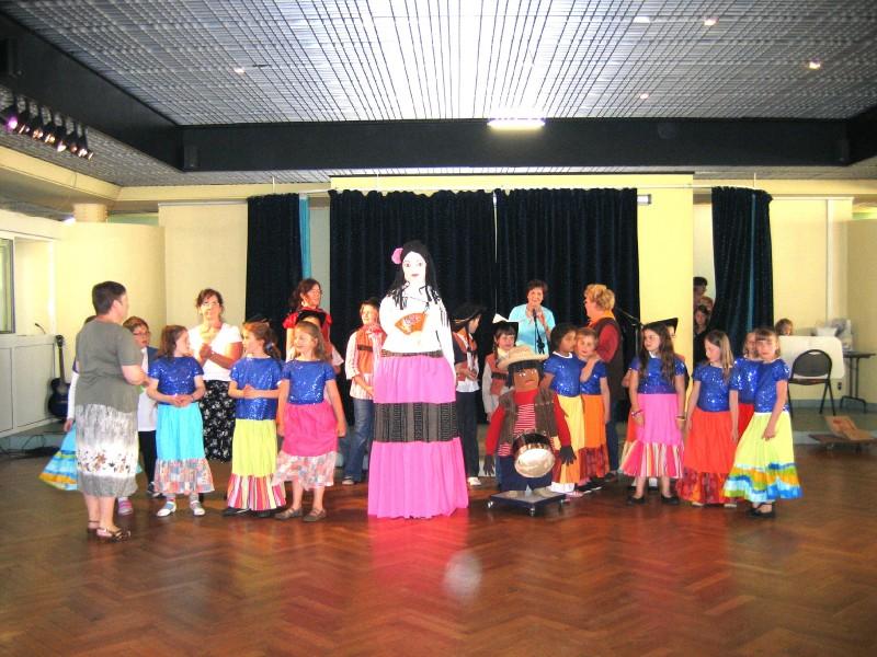 Carnaval au Nicaragua avec les 1ères années du Centre