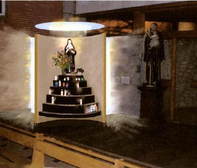 Projet chapelle Ste RITA