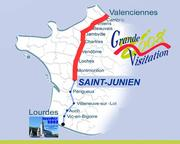 Carte Saint Junien