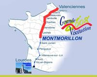 Carte Montmorillon