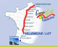 Carte Villeneuve sur Lot