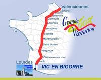 Carte Vic en Bigorre